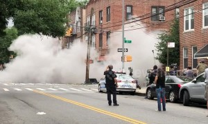 NYC bar stages explosion as part TV stunt