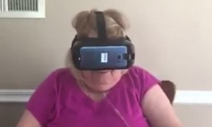 Granny Goes for a Virtual Ride