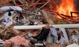 House Destroyed by Devastating Blast