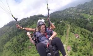 Queasy Paragliding Adventure