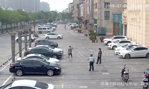 Alleged drunk man in Shanghai smashes several cars after girlfriend 'betrayed him'