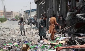 Three back-to-back explosions leave 11 victims dead and dozens injured in Afghanistan capital