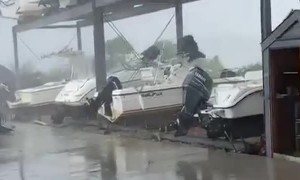 High Winds  are Bad for Boats