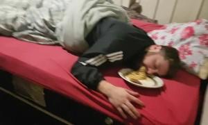 Sleepy Spaghetti Snack