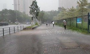Hong Kong braces for Tropical Cyclone Wipha