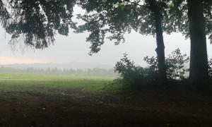 Lightning Strikes Close to Shelter