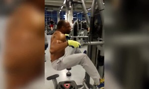 Man Does CRAZY Exercises