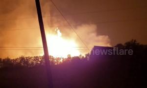 At least one dead in massive gas line explosion in Danville, Kentucky