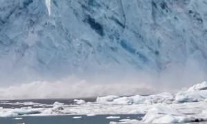 Glacier Comes Crashing Down