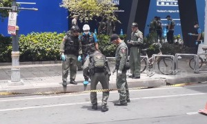 Bomb disposal teams secure Bangkok after multiple explosions
