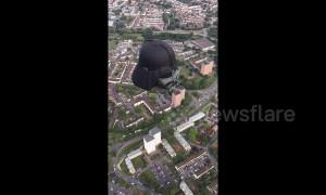 Hot air Darth Vader takes to Bristol skies as part of balloon fiesta