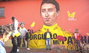 Tour de France champion Bernal given hero's welcome in home town