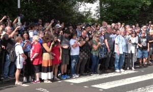 Fans from afar as the US and New Zealand mark anniversary of Beatles' Abbey Road photo