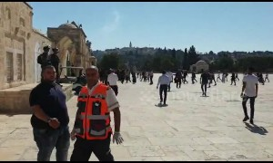 Tension at Jerusalem holy site as Muslim and Jewish festivals coincide