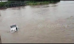Brat son dumps new BMW in river after father refuses to buy Jaguar