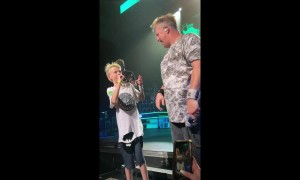 US kid sings hit single 'Life is a Highway' on stage with Rascal Flatts