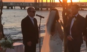 Bride Asks Autistic Brother To Sing - His Sweet Disney Song Has Everyone In Tears