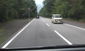 Strips on road play musical tune for drivers in Japan