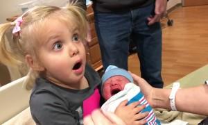 Old Baby-- Meet New Baby