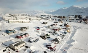 Drone footage showcases Greenland's scenery that Trump is considering buying