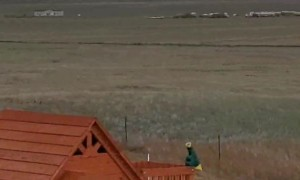 Tornado Turns Up Dirt in Wyoming