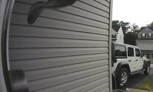 Doorbell Camera Captures Unwelcome Visitor