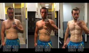 US man documents his incredible 90-day body transformation