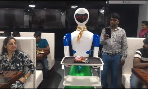 Robot restaurant launches in southern India