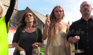 "Cornish activists launch ""Climate Alarm"""
