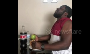 Genius man has the best diet 'hack' ever: sniff the bad food, eat the good food