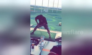One man, many swings: Arizona golfer shows off variety of clever hacks
