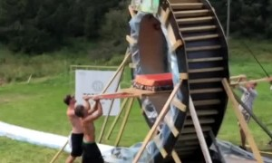 Things Get Loopy with Backyard Slide