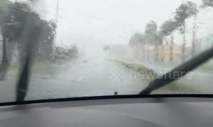Hurricane Dorian slams into Virgin Islands damaging homes