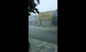 Strong winds batter Vietnam as Storm Podul makes landfall