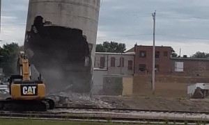 Silo Collapses on Equipment Operator