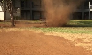 Dust Devil in Waipahu
