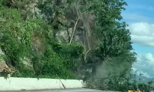 Spectacular Rockslide