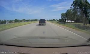 Side Swiped by Silver Van