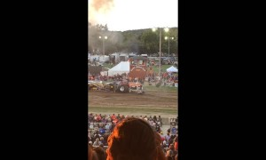 Tractor Pull Goes Poorly