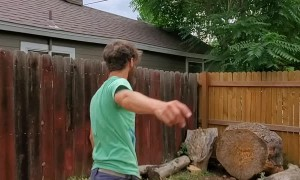 Precision Quick Draw Knife Throw