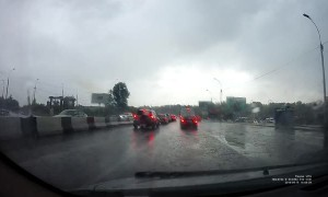 Lightning Tags Car Twice