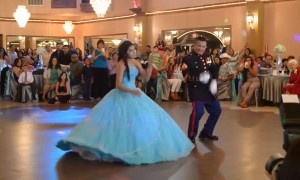 Daughter and Father Leave Everyone In Awe When They Take The Dance Floor