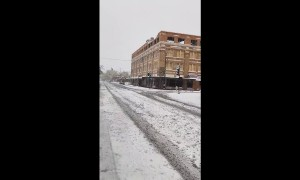 September snowstorm hits Great Falls, Montana