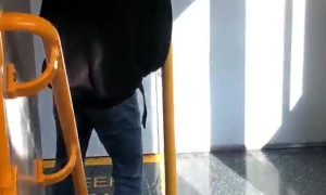 Man Uses Train as Toilet