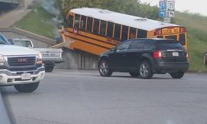 School Bus Got Stuck