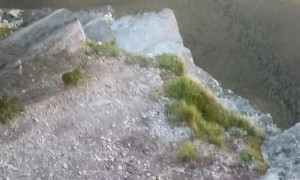 Nature Throws Rocks Back at Hikers