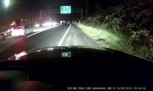 Broken Power Lines Create Chaos Interstate