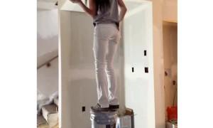 Double Bucket Drywall Walk