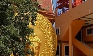 Buddha Statue Bites the Dust