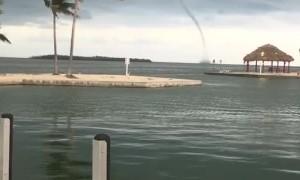 Water Spout Spotted Off Cudjoe Key